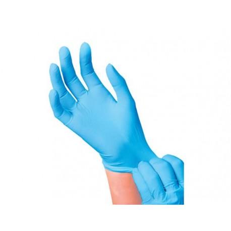 Нитриловые перчатки SafeTouch® Advanced Slim Blue