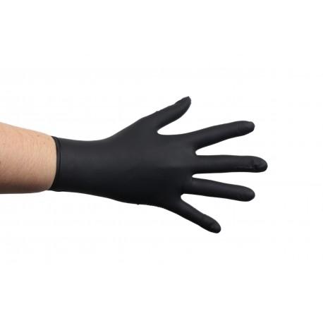 Нітрилові рукавички SafeTouch® Advanced Black
